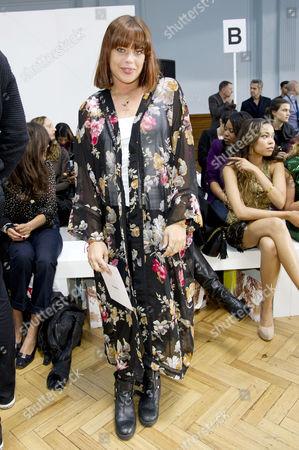 Sass&bide Ss2012 Front Row at the Royal Horticultural Halls During London Fashion Week 2012 Willa Keswick
