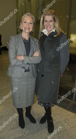 Service of Thanksgiving Celebrating the Life of Sir Alastair Burnet at St Martins in the Field Westminster Selina Scott and Anna Ford