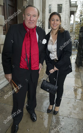 Service of Thanksgiving Celebrating the Life of Sir Alastair Burnet at St Martins in the Field Westminster Andrew Neil with His Girlfriend Susan Nilsson