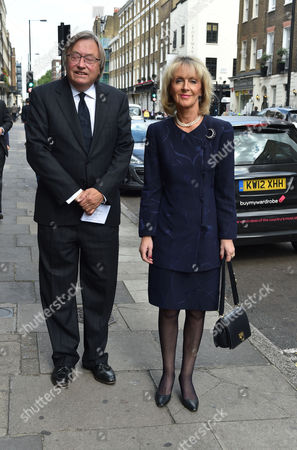 Service of Thanksgiving For Leon Brittan at the West London Synagogue Seymour Place London David Mellor and Lady Penny Cobham
