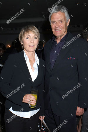'Solo' (the Latest James Bond Novel) Book Publication Party at the Dorchester Hotel Simon Williams with His Wife Lucy Fleming