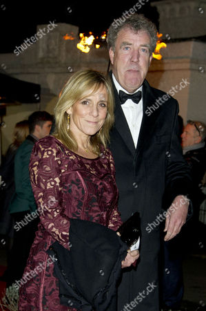 Stock Picture of Sun Military Awards at the Imperial War Museum Jeremy Clarkson with His Wife Frances Cain