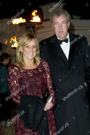 Sun Military Awards at the Imperial War Museum Jeremy Clarkson with His Wife Frances Cain