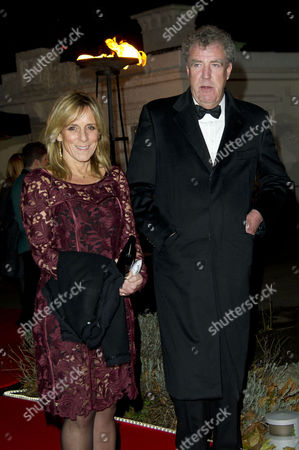 Stock Photo of Sun Military Awards at the Imperial War Museum Jeremy Clarkson with His Wife Frances Cain