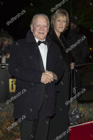 Sun Military Awards at the Imperial War Museum David Jason with His Wife Gill Hinchcliffe