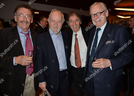 the Opening of the Andrew Lloyd Webber Foundation Theatre at Artsed in Chiswick Robert Powell Richard Stilgo Don Black & John Gummer
