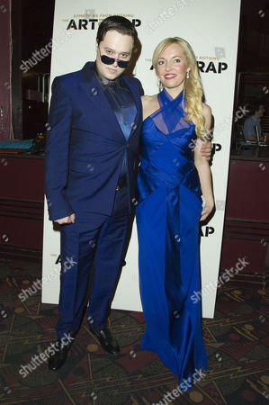 the Art of Rap Film Premiere at the Hammersmith Apollo Rj Gibb with His Girlfriend Megan