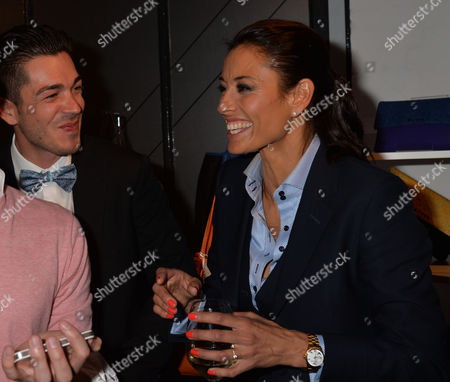 May 14 2013 the Aston Martin Tailoring Collection Vip Launch at the Clerkenwell Collection Farringdon Road London Melanie Sykes and Her Toyboy Fiancé Jack Cockings
