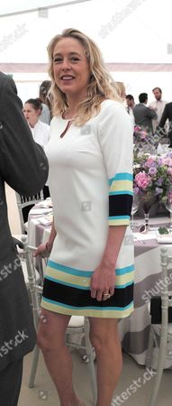 14 06 2015 the Cartier Queens Cup Polo Final at Smiths Lawn Windsor Great Park Windsor Berkshire Alexandra Spencer-churchill