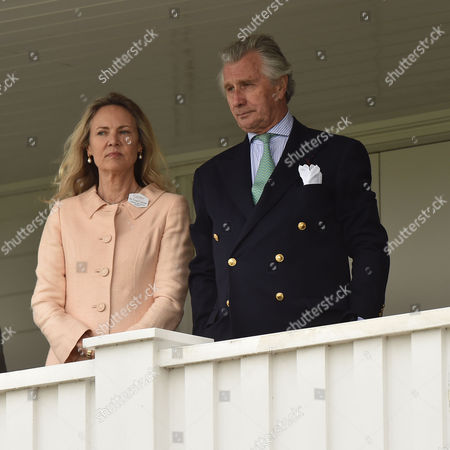 14 06 2015 the Cartier Queens Cup Polo Final at Smiths Lawn Windsor Great Park Windsor Berkshire Arnaud & Carla Bamberger
