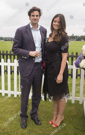 14 06 2015 the Cartier Queens Cup Polo Final at Smiths Lawn Windsor Great Park Windsor Berkshire Rupert Finch and His Wife' Lady Natasha Rufus Isaacs