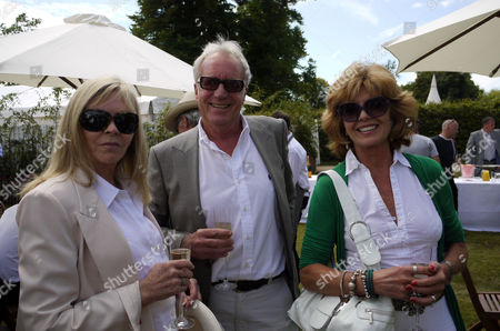 The Cartier Style Et Luxe On the Private Lawn at the Goodwood Festival of Speed Chichester Goodwood Sussex Adele Cook John Rendell & Rula Lenska