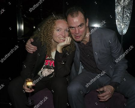 Stock Picture of A Party to Celebrate the Christmas Festive Season at the Mayfair Hotel Stratton Street London Stephanie Theobald