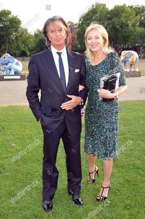 The Elephant Parade Dinner and Auction at the Royal Hospital Chelsea Richard & Jackie Caring