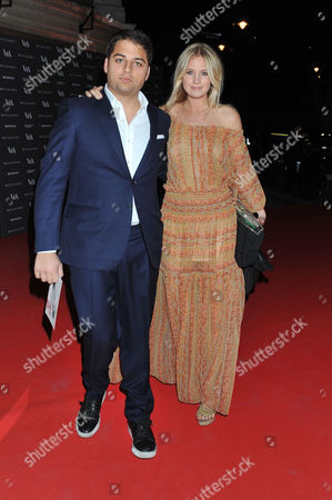 the Glamour of Italian Fashion Pre-opening Dinner at the Victoria and Albert Museum Cromwell Road West London Jamie Reuben & Marissa Montgomery