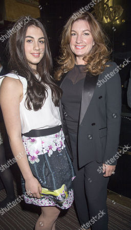 May 15 2013 Drink Reception at the Critition Restaurant Piccadilly Circus and Screening at Cine World Haymarket of the Great Gatsby Karren Brady with Her Daughter Sophia Peschisolido