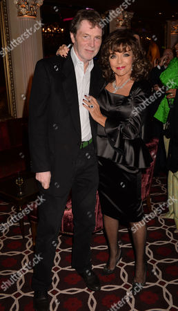 the Launch of Passion For Life by Joan Collins at the Westbury Hotel Mayfair London Joan Collins and Her Brother Bill Collins