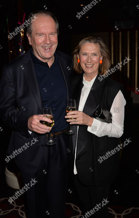 the Launch of Passion For Life by Joan Collins at the Westbury Hotel Mayfair London William Boyd with His Wife