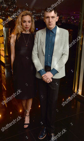 the Liberatum Cultural Honour For John Hurt at Spice Market in W London Leicester Square Phoebe Collings James & Matthew Stone