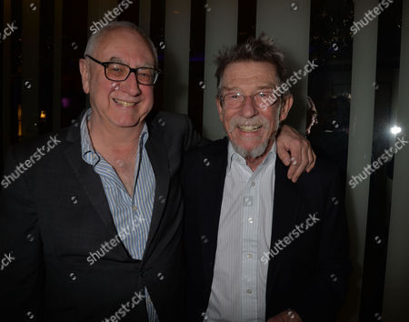 the Liberatum Cultural Honour For John Hurt at Spice Market in W London Leicester Square Don Boyd and John Hurt