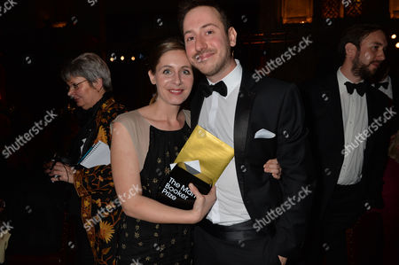 the Man Booker Prize For Fiction Presention at the Guildhall City of London Eleanor Catton Winner of the 2013 Man Booker Prize with Her Partner Poet Steven Toussaint