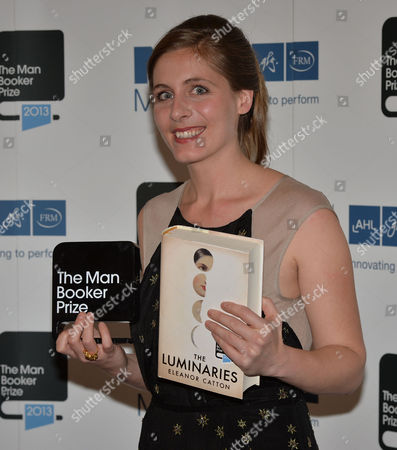 the Man Booker Prize For Fiction Presention at the Guildhall City of London Eleanor Catton Winner of the 2013 Man Booker Prize