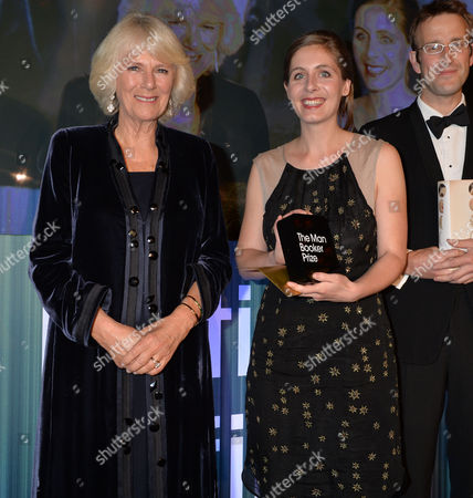 Npa Rota the Man Booker Prize For Fiction Presention at the Guildhall City of London Camilla the Duchess of Cornwall Presents Eleanor Catton with the 2013 Man Booker Prize