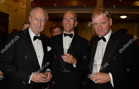 the Man Booker Prize For Fiction Presention at the Guildhall City of London Ed Victor Sandy Nairne Director of the National Portrait Gallery and Charles Saumarez Smith of the Raa