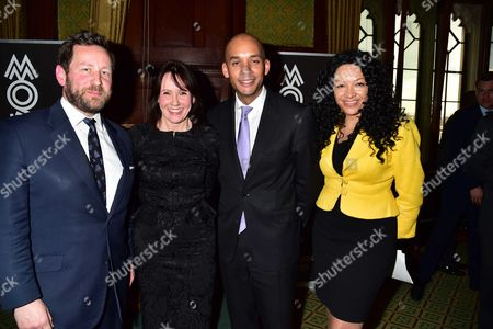 Kanya King Invite You to the Mobo Launch of 'The Shape of Things to Come' in the Members Dining Room at the Palace of Westminster As Part of an Hsbc Series of Events the Creative Industries Are A Major Contributor to the Uk Economy and Following On From the Success of the Mobo Awards in Music the Mobo Movement Wants to Champion Change Across the Creative Industries to Ensure That Talent From Diverse Backgrounds Won't Be Wasted with Guest Speaker is Ed Vaizey Mp Minister For Culture Communications and Creative Industries Ed Vaizey Mp Carol Bagnall of Hsbc Kanya King Mbe Jazzy B and Chuka Umunna Mp