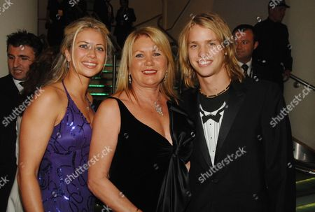 Joan Branson with Her Children Holly and Sam