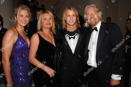Richard and Joan Branson with Their Children Holly and Sam
