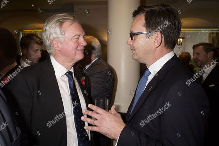 the Spectator Awards at the Savoy Hotel David Davis and Andy Coulson