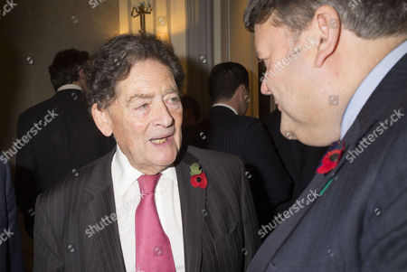 the Spectator Awards at the Savoy Hotel Lord Nigel Lawson and Lord Thomas Strathclyde