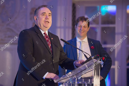 the Spectator Awards at the Savoy Hotel Alex Salmond and Fraser Nelson