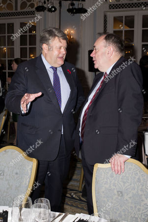 the Spectator Awards at the Savoy Hotel Lord Thomas Strathclyde and Alex Salmond