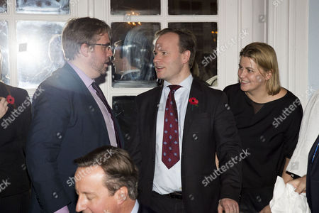 the Spectator Awards at the Savoy Hotel Tim Shipman Craig Oliver and Liz Sugg
