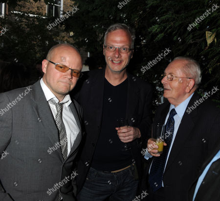 the Spectator Magazine Summer Party at the Offices of the Magazine in Great Queen Street Toby Young and Brian Walden