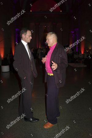 Stock Photo of Presention of the Turner Prize 2006 at Tate Britain Millbank London Sir Nicholas Serota Lord Richard Rogers