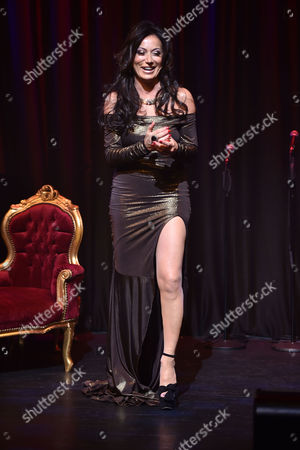 the World According to Nancy Dell'olio One Woman Show at the Hippodrome