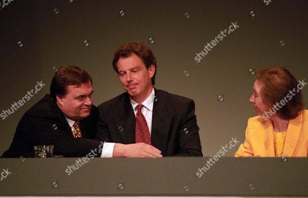 Conference at the Institute of Education John Prescott Tony Blair and Margaret Beckett