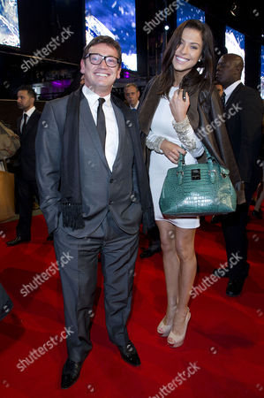 'The Twilight Saga Breaking Dawn Part 2' Uk Premiere at the Odeon Leicester Square Sid Owen with His Girlfriend Laura Gardner