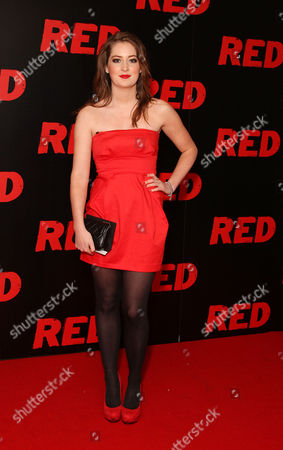 Uk Premiere of 'Red' at the Royal Festival Hall Southbank Beth Kingston