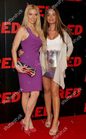 Uk Premiere of 'Red' at the Royal Festival Hall Southbank Liz Fuller and Jo-emma Larvin