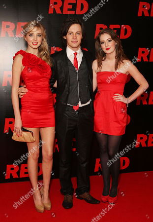 Uk Premiere of 'Red' at the Royal Festival Hall Southbank Alice Barlow Elliot Langridge and Beth Kingston
