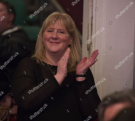 Ukip Spring Conference 2015 at the Winter Gardens Margate Nigel Farage's Wife Kirsten Farage Watches His Speech