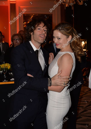 Veuve Clicquot Business Woman Award 2013 at Claridges Hotel Ballroom Brook Street Mayfair London Kathryn Parsons with Her Partner Michael Acton Smith