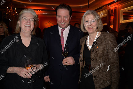 Veuve Clicquot Business Woman Award 2013 at Claridges Hotel Ballroom Brook Street Mayfair London Dame Marjorie Scardino Managing Director Moet Hennessy Uk Jo Thornton & Theresa May Mp Secretary of State For the Home Department and Minister For Women and Equalities