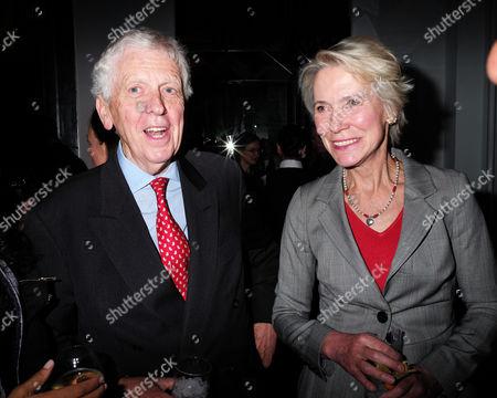 11 05 2015 the 43rd Veuve Clicquot Business Woman Awards 2015 at Claridge's Hotel Brook Street Mayfair London Charles Powell & Virginia Bottomley