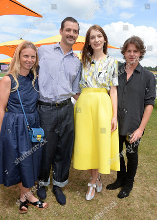 Veuve Clicquot Gold Cup at Cowdray Park Polo Club Katie Hillier Patrick Grant Roksanda Ilincic and Christopher Kane