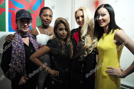 Vip Preview of Omar Hassan's Exhibition 'Breaking Through' at Continiartuk New Bond Street London Ilona Rampling Sonique Tasmin Lucia-khan Emma Noble & Linzi Stoppard